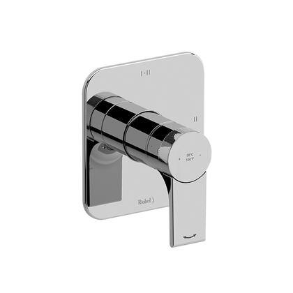 Fresk TFR23BN 2-Way Thermostatic/Pressure Balance Coaxial Valve Trim  in Brushed