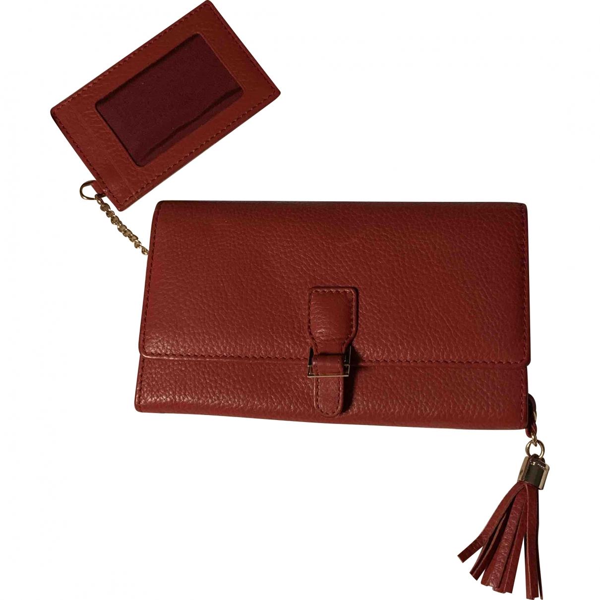 Le Tanneur \N Burgundy Leather wallet for Women \N