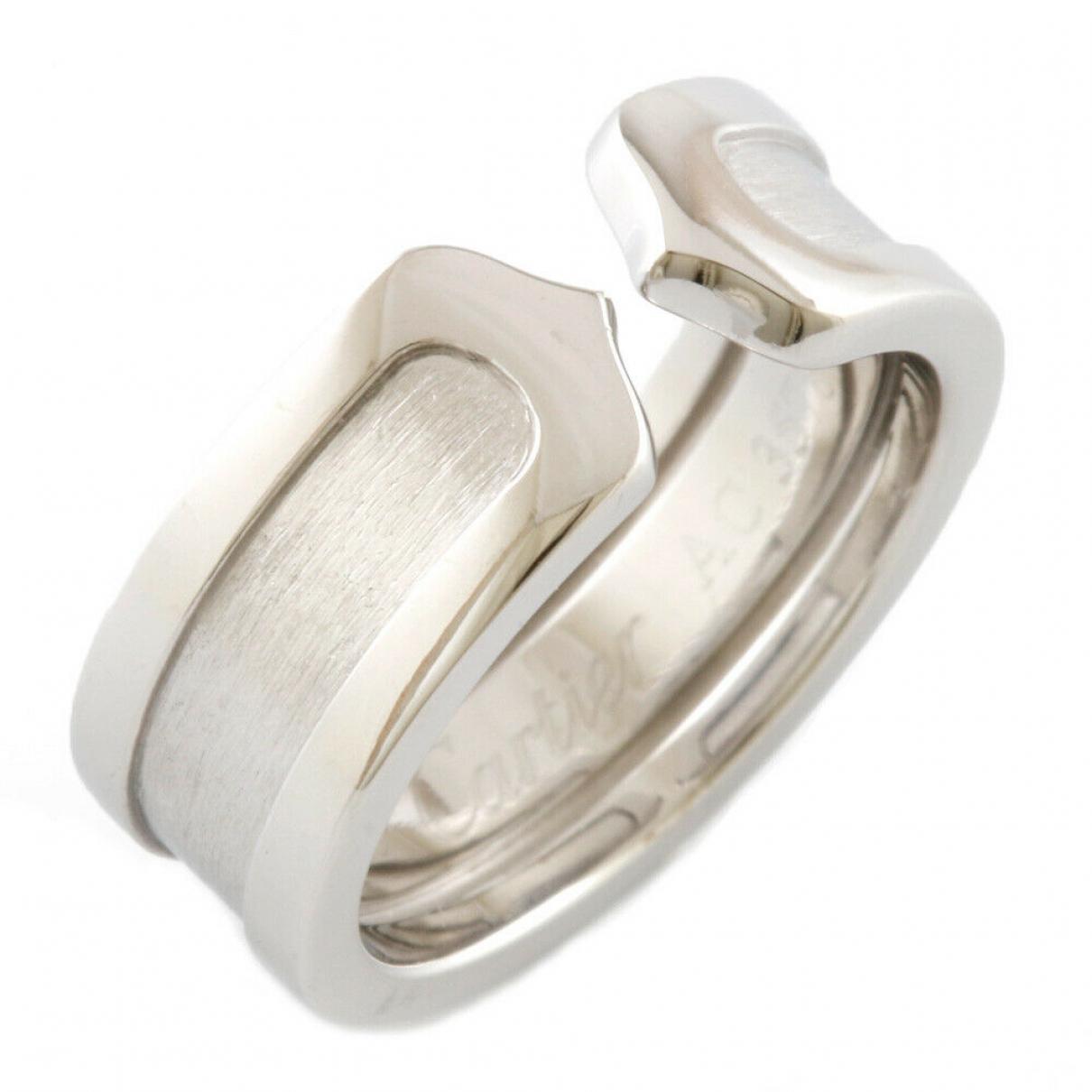 Cartier - Bague   pour femme en or blanc - argente