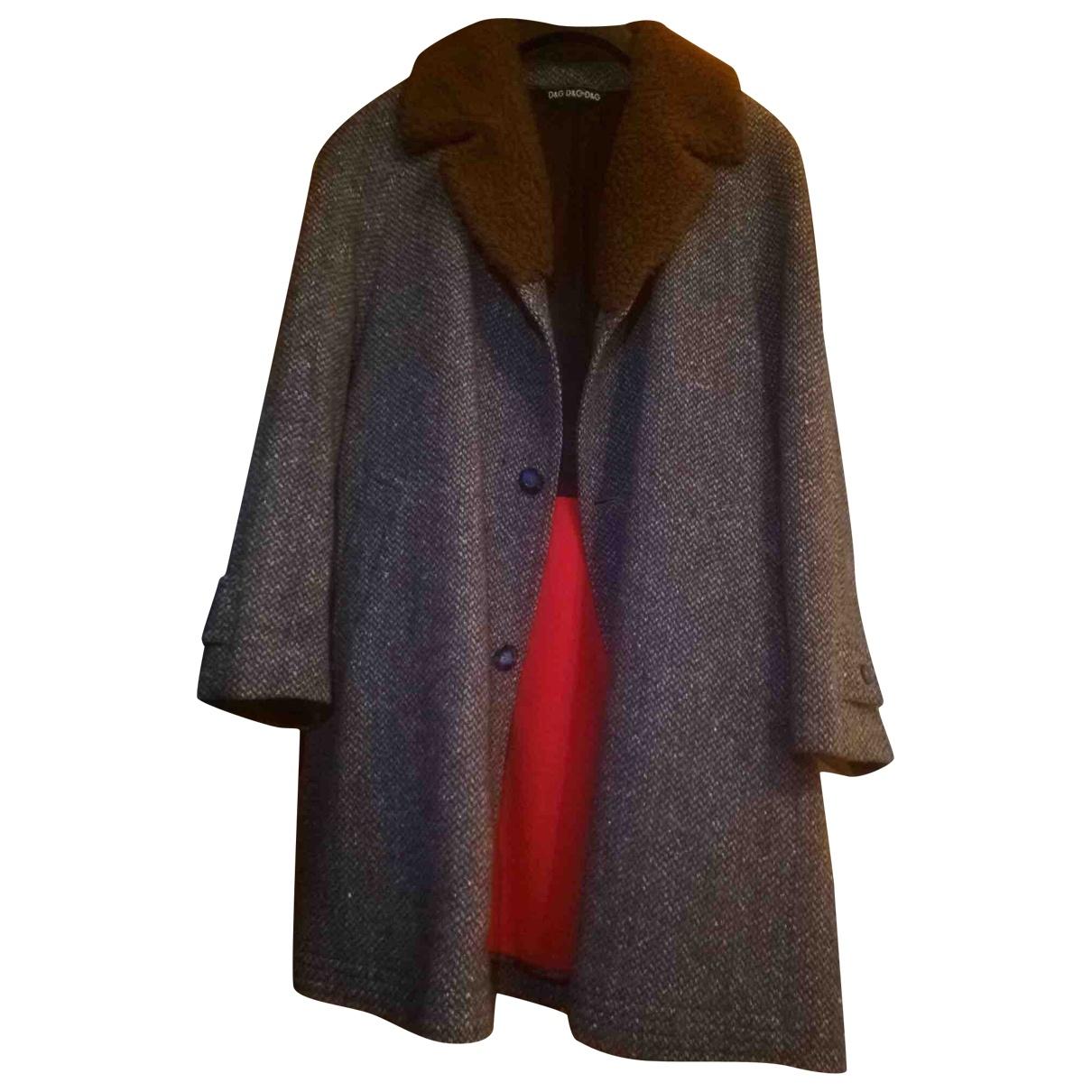 D&g \N Grey Wool coat  for Men 50 IT