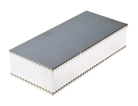 Perancea Tin Plated Steel PCB Enclosure, 50 x 100 x 220mm