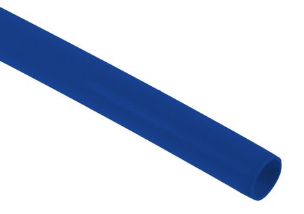 RS PRO Halogen Free Heat Shrink Tubing, Blue 4.8mm Sleeve Dia. x 1.2m Length 2:1 Ratio