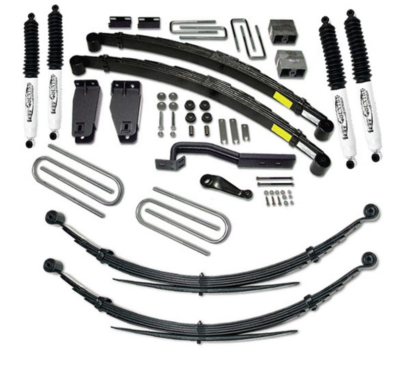 Tuff Country 26829KN Complete Kit (w/SX8000 Shocks)-6in. Ford F-250 1988-1996 5.8L V8