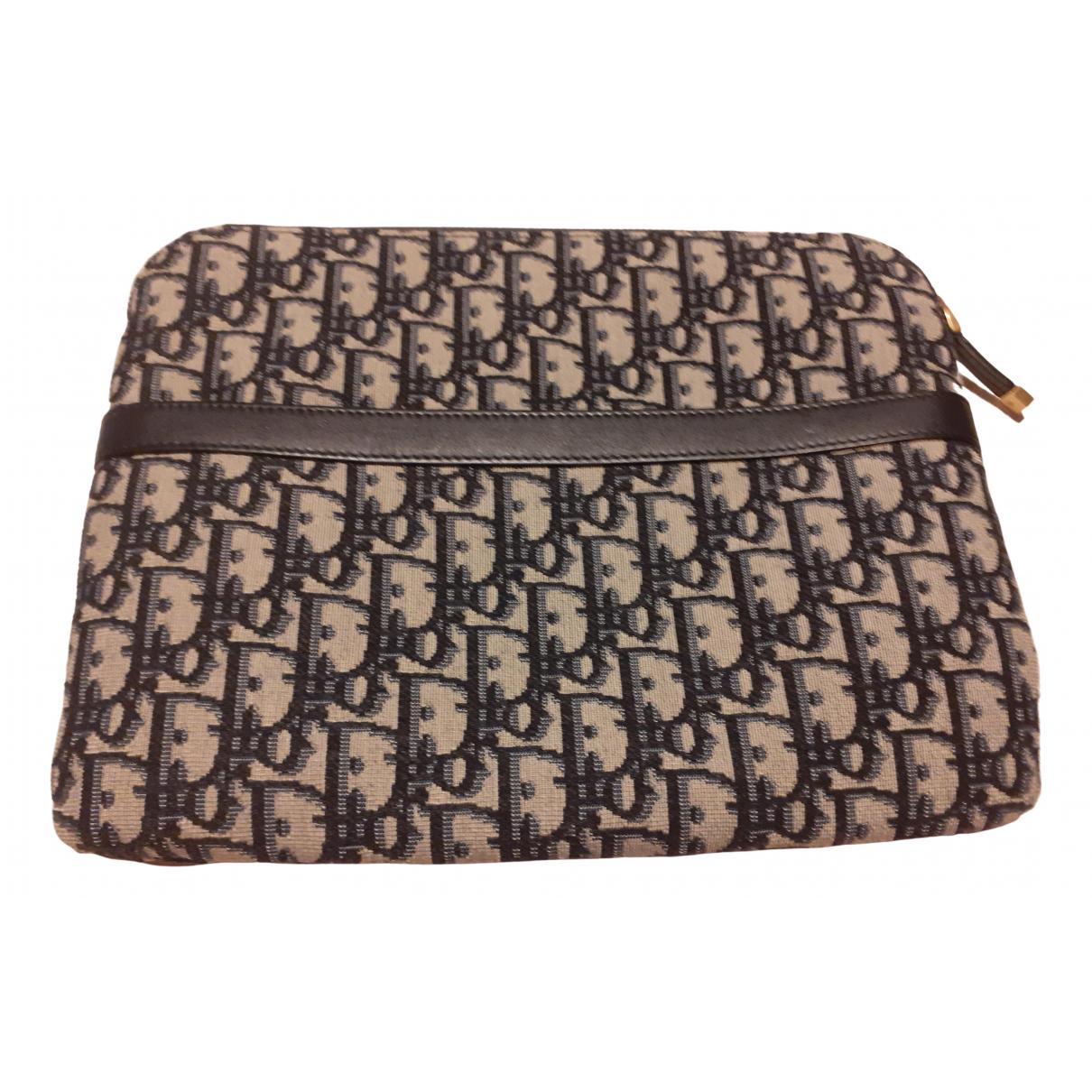 Bolsos clutch en Algodon Azul Dior