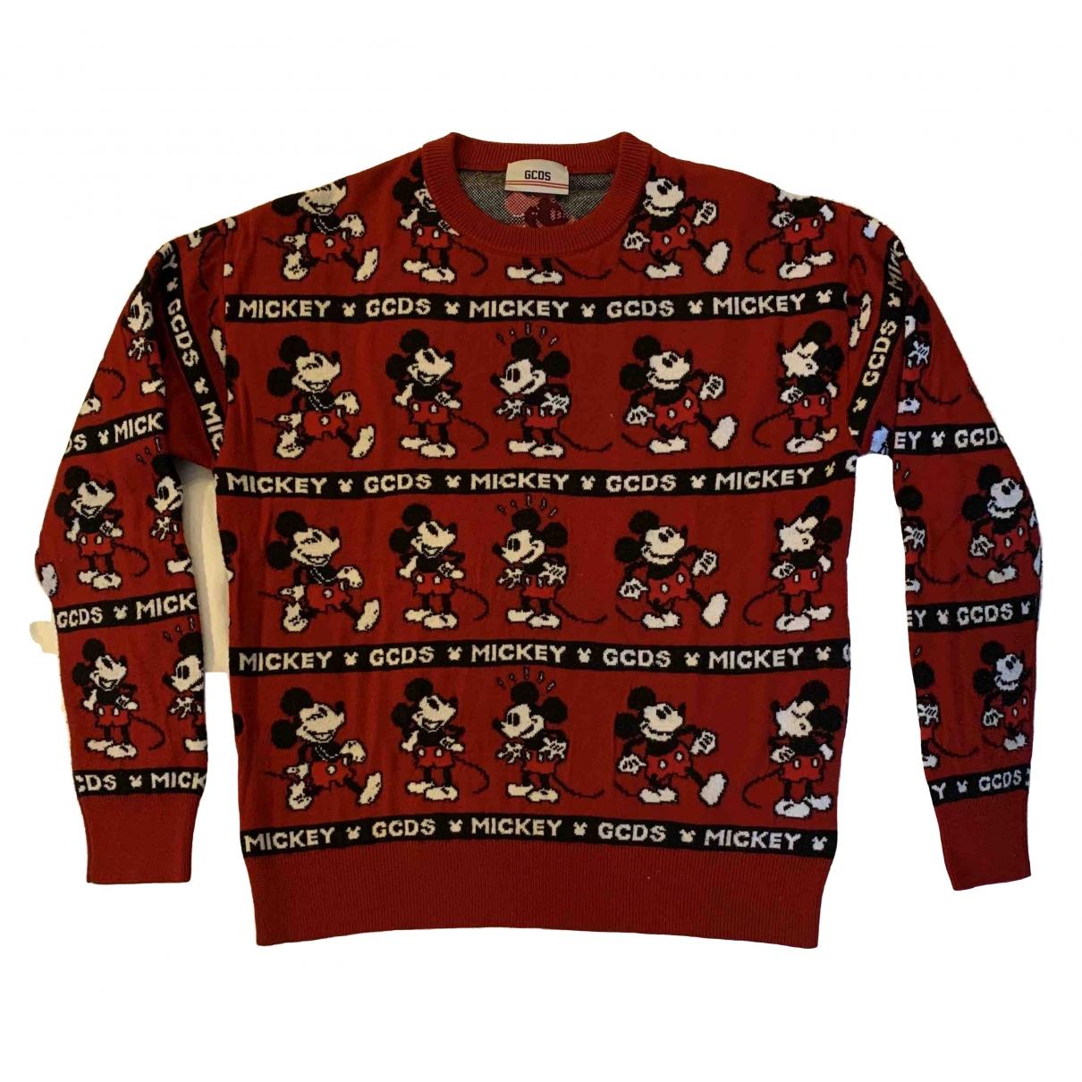 Gcds \N Red Wool Knitwear & Sweatshirts for Men M International