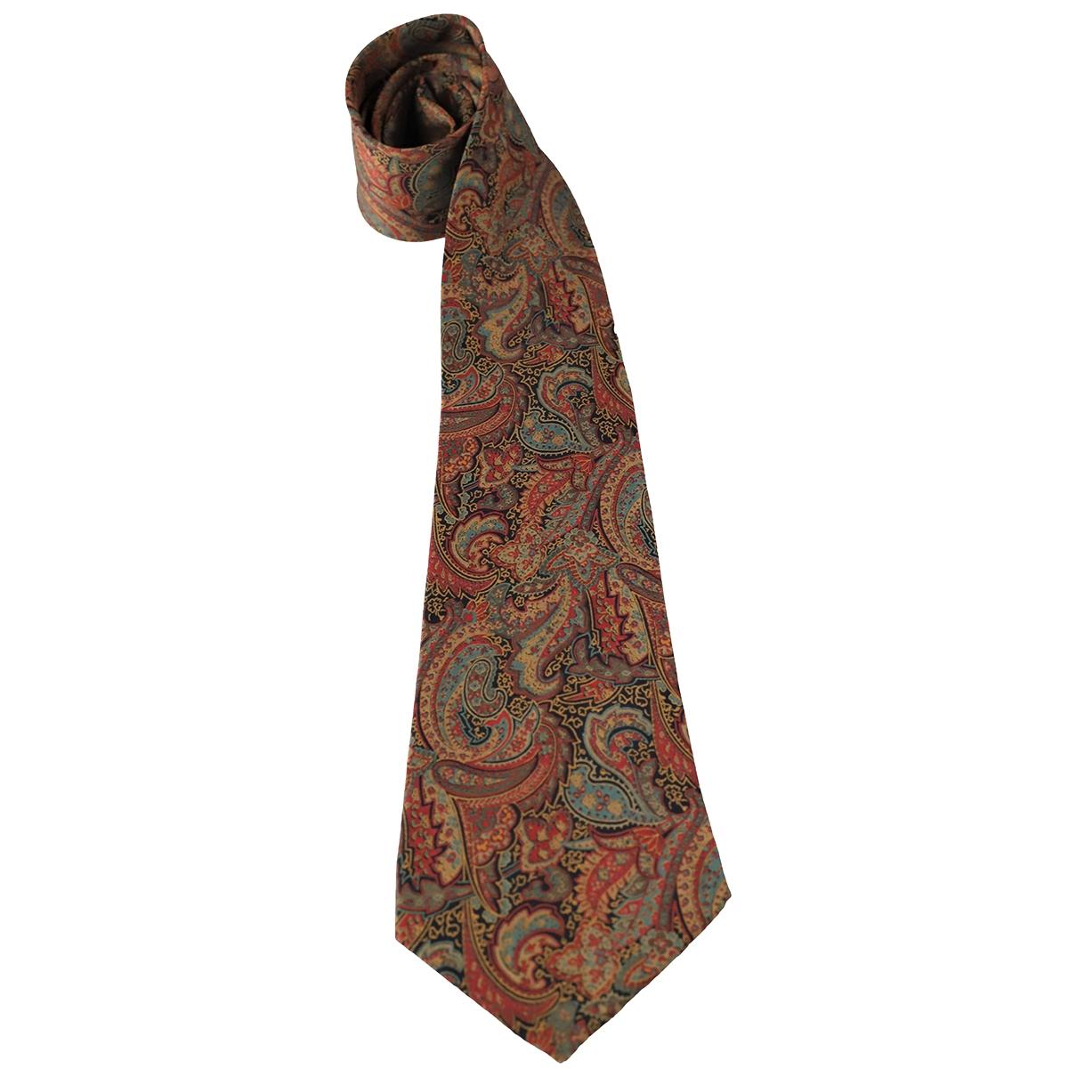 Nina Ricci \N Krawatten in  Kamel Seide