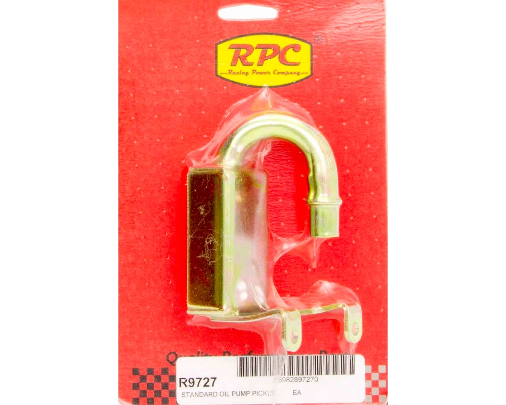 Racing Power Company R9727 Standard Volume Oil Pump Pick-Up SB Chevrolet