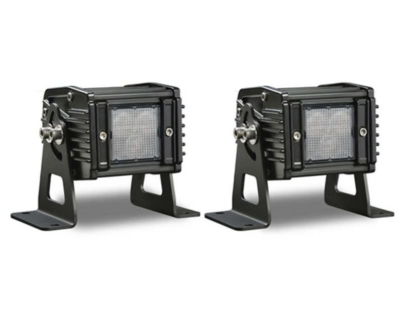 Tomar Off-Road DUAL-3W-C Dual-3 LED Composite Lightbar | Wires Only