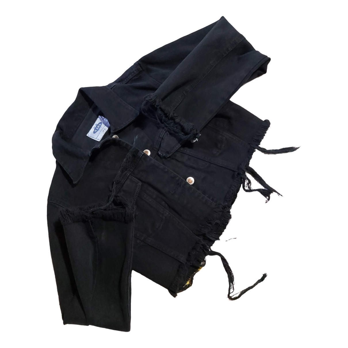 - Veste   pour femme en denim - noir