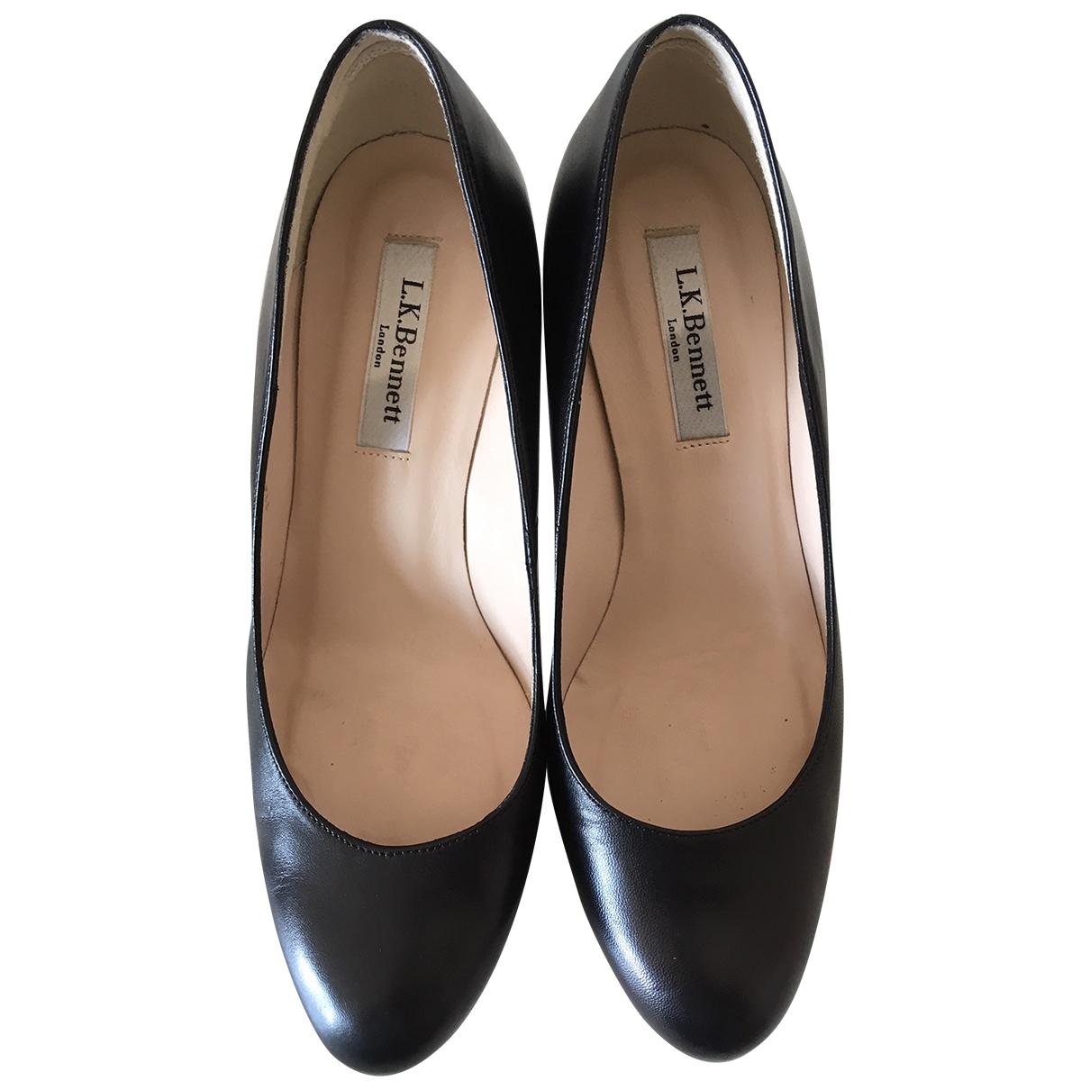 Lk Bennett - Escarpins   pour femme en cuir - noir