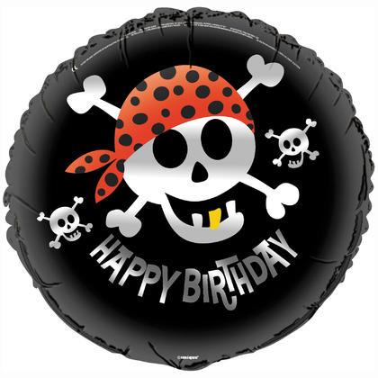 Pirate Fun Round Foil Balloon 18
