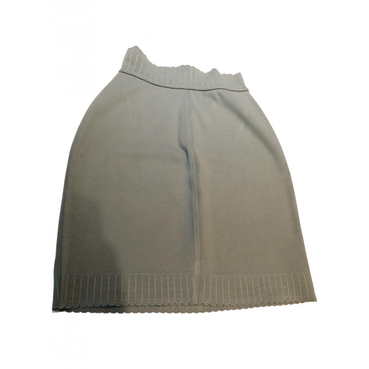 Alaia - Jupe   pour femme en coton - vert