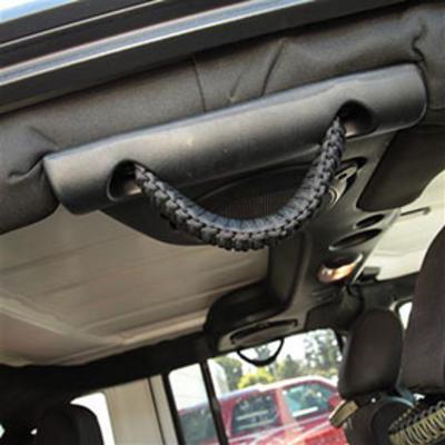 Bartact Paracord Grab Handle - Rear Side (Black) - TAOGHRPBB