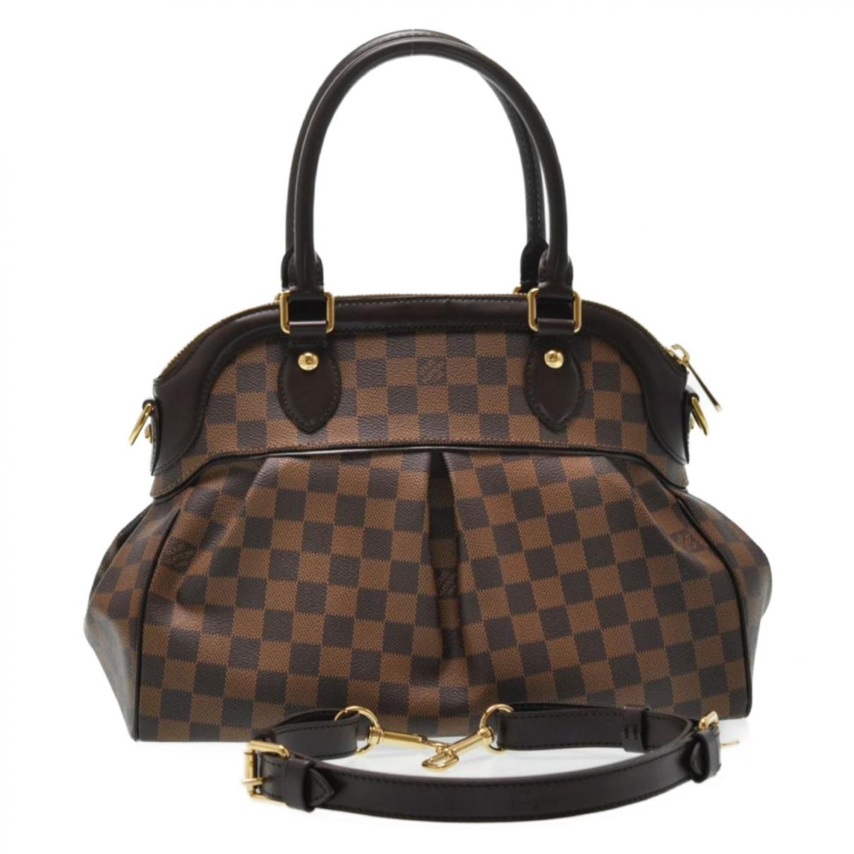 Louis Vuitton Trevi Brown Cloth handbag for Women \N