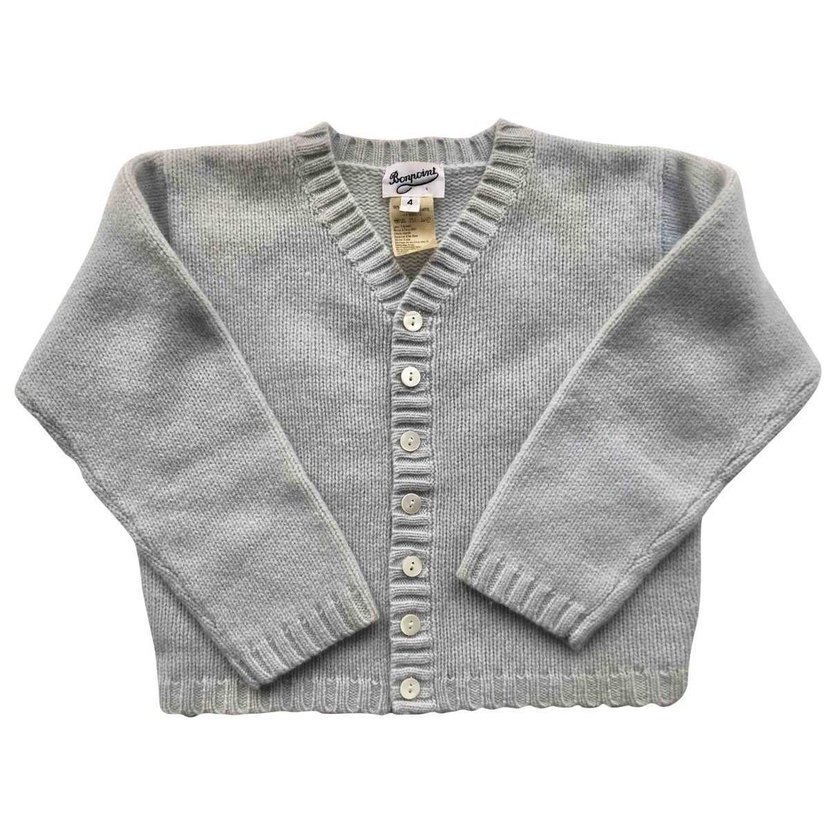 Bonpoint \N Blue Wool Knitwear for Kids 4 years - up to 102cm FR