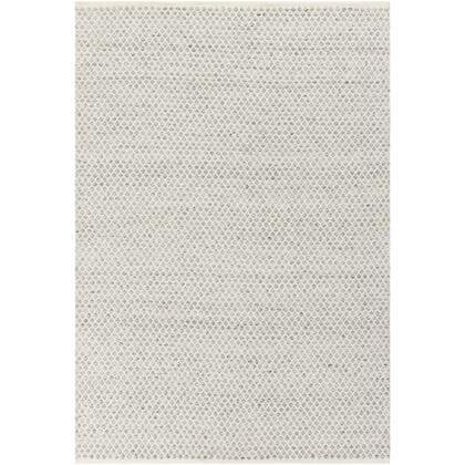 Azalea AZA-2306 8' x 10' Rectangle Modern Rug in Medium Grey  White