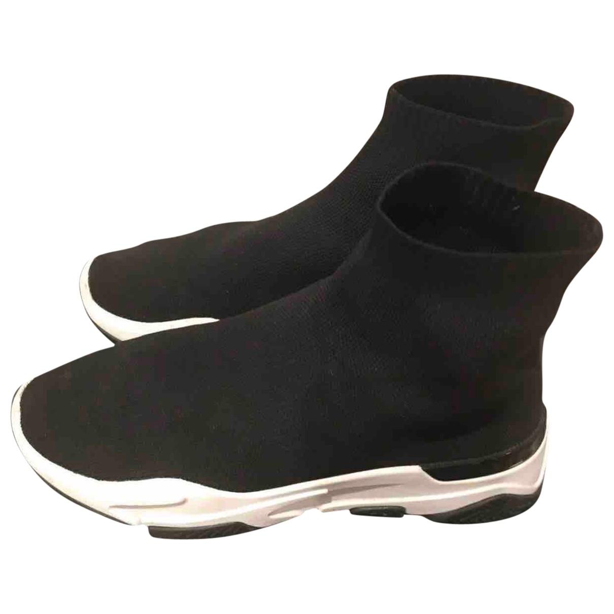 Mallet \N Sneakers in  Schwarz Leinen