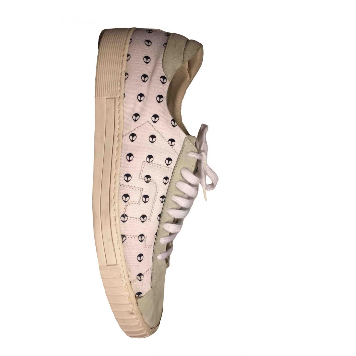 Gianfranco Ferre \N Sneakers in  Grau Leinen
