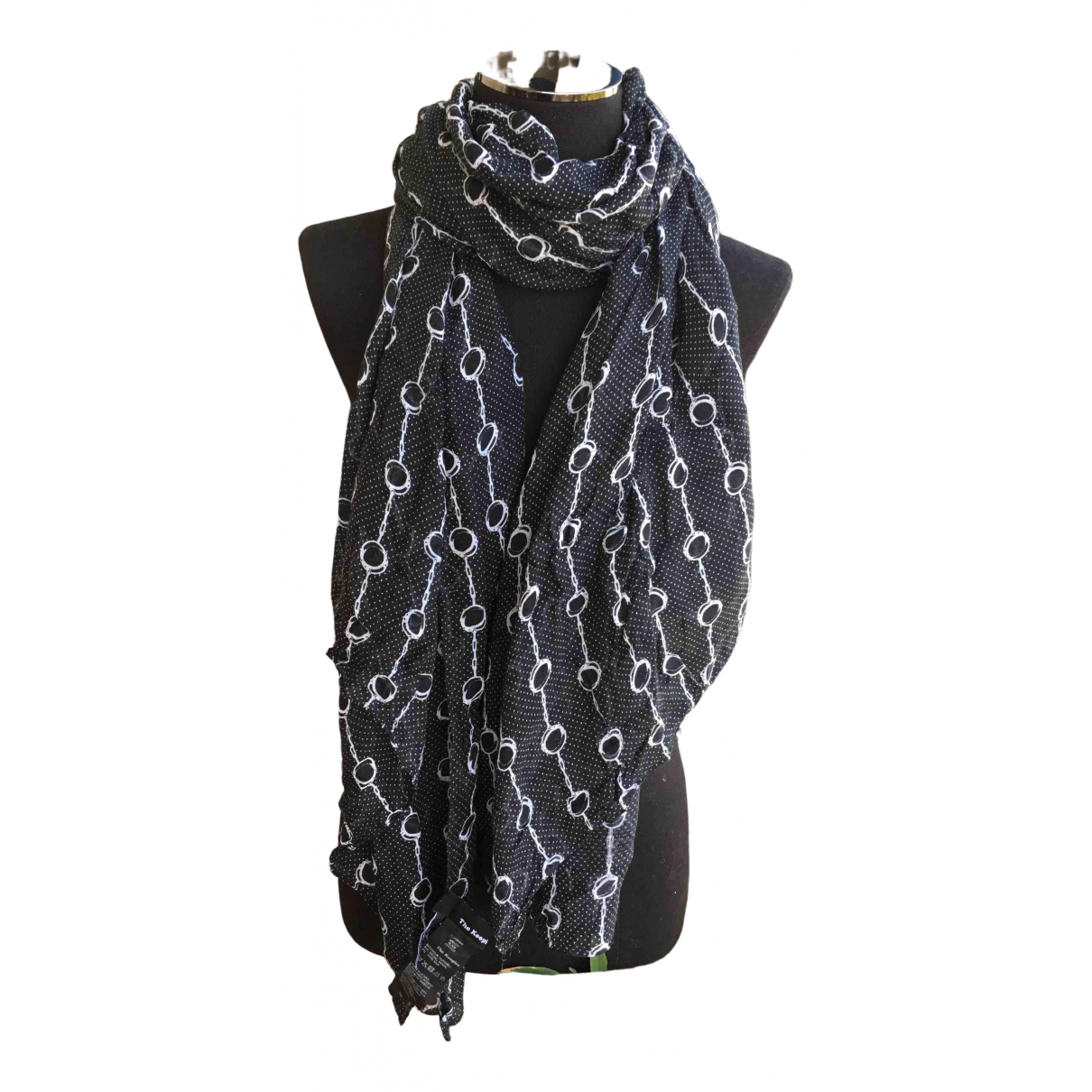 The Kooples Spring Summer 2020 Black scarf for Women \N