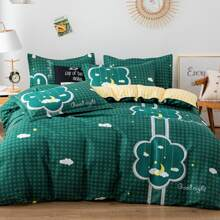 Set de cama con nube sin relleno