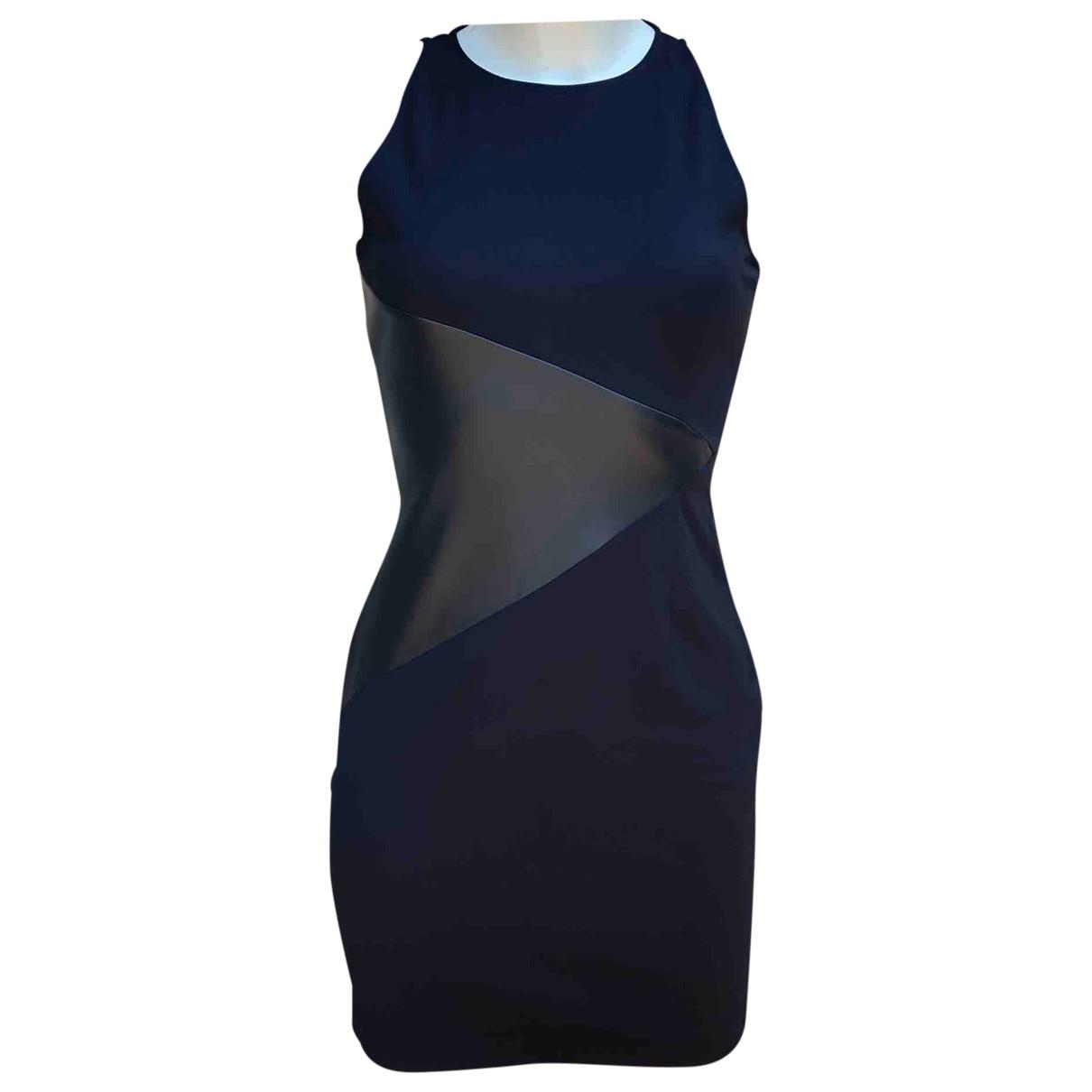 Versus \N Kleid in  Schwarz Baumwolle