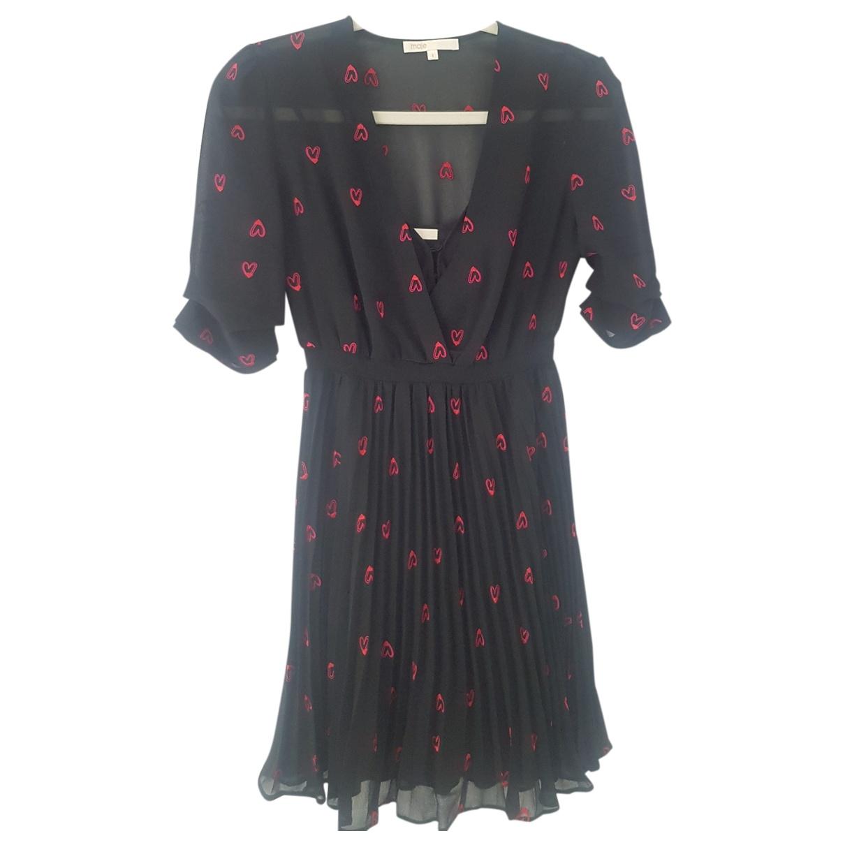 Maje Spring Summer 2019 Black dress for Women 34 FR
