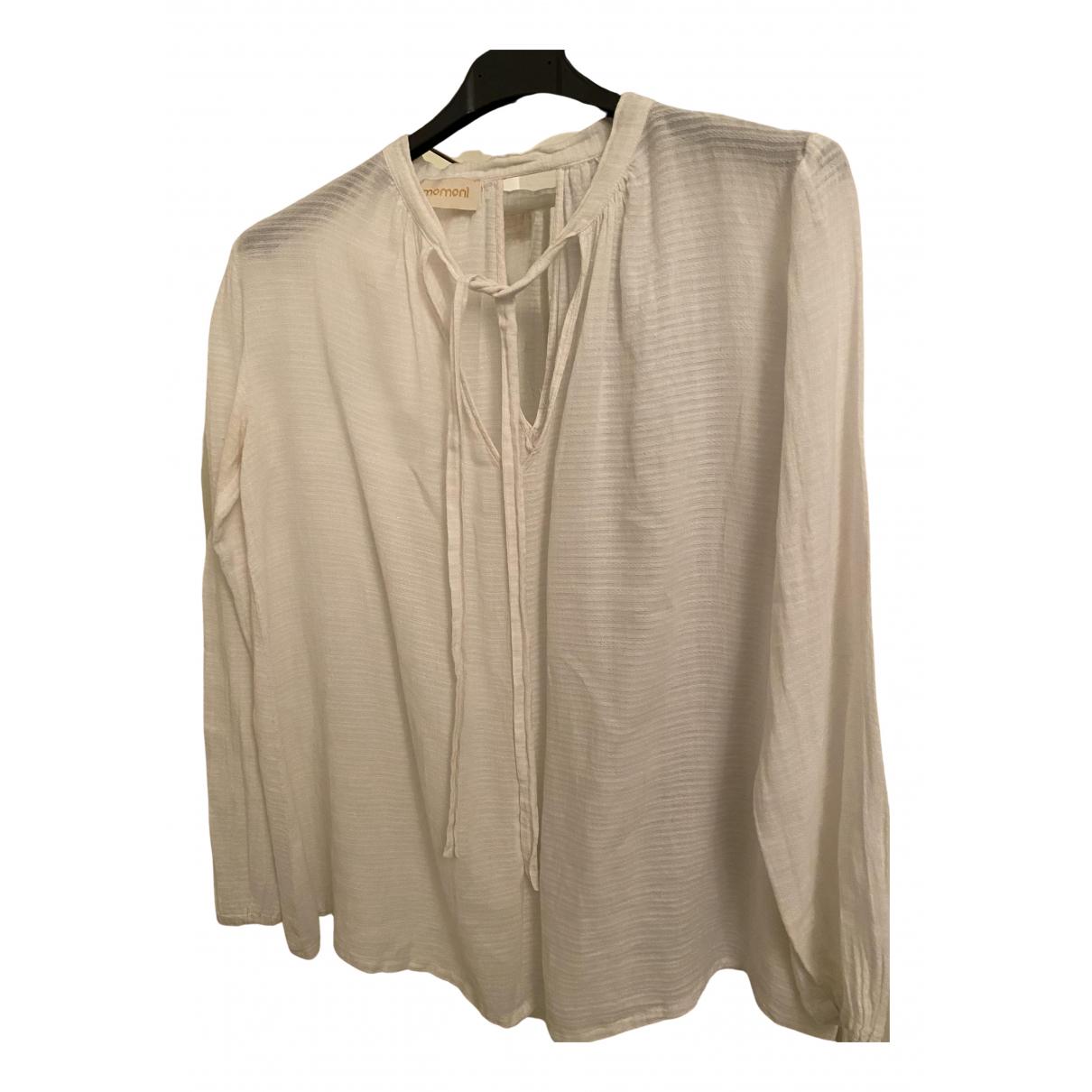 Momoni N White Cotton dress for Women S International