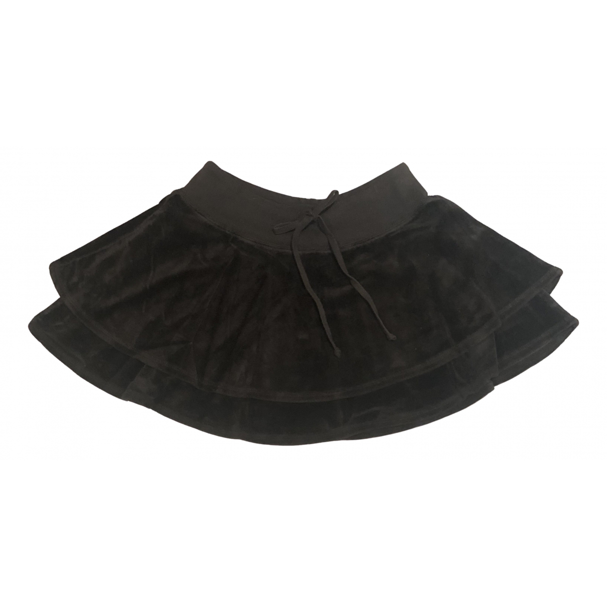 Juicy Couture - Jupe   pour femme en velours - noir