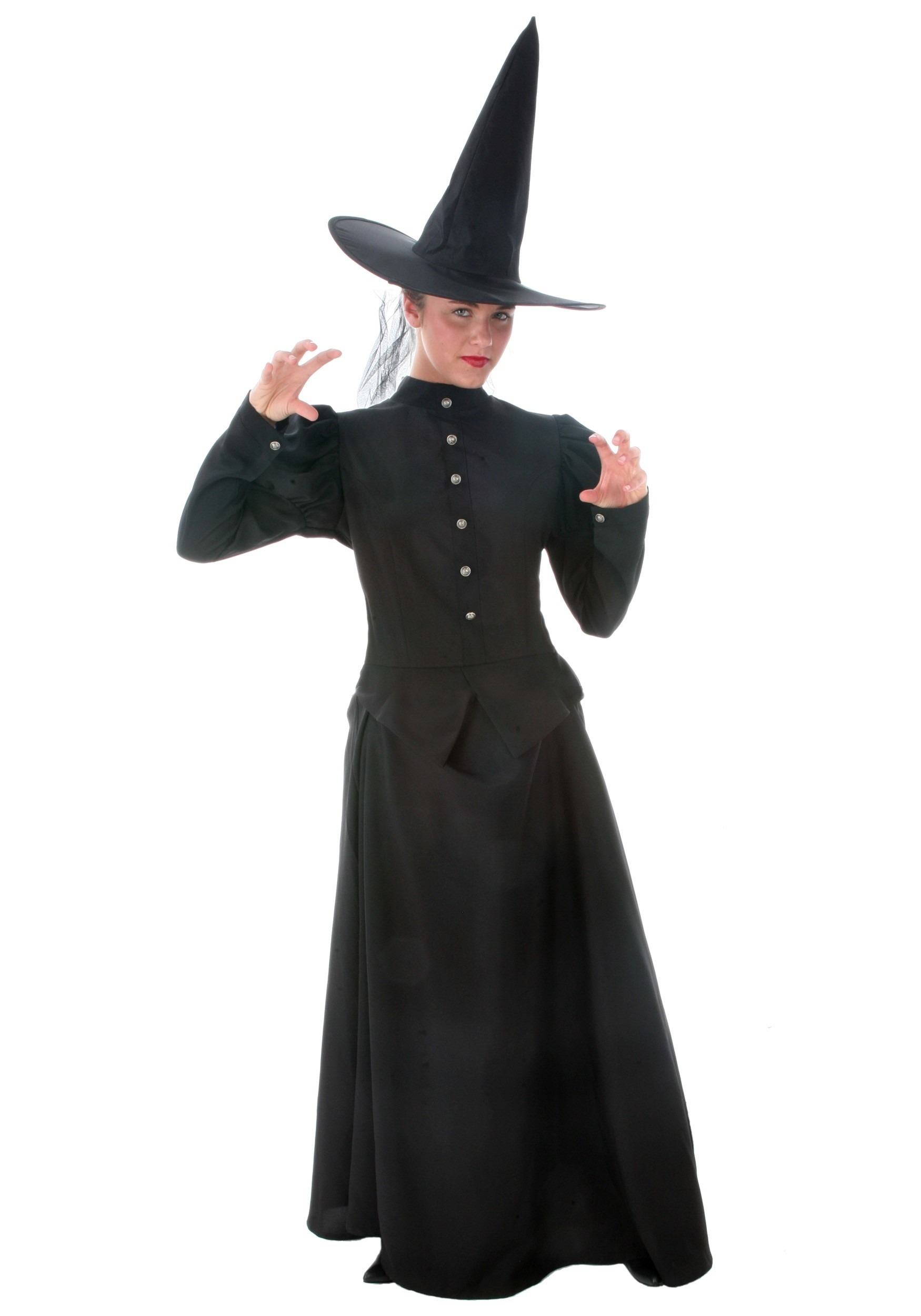 Women's Plus Size Witch Costume | Evil Witch Costume