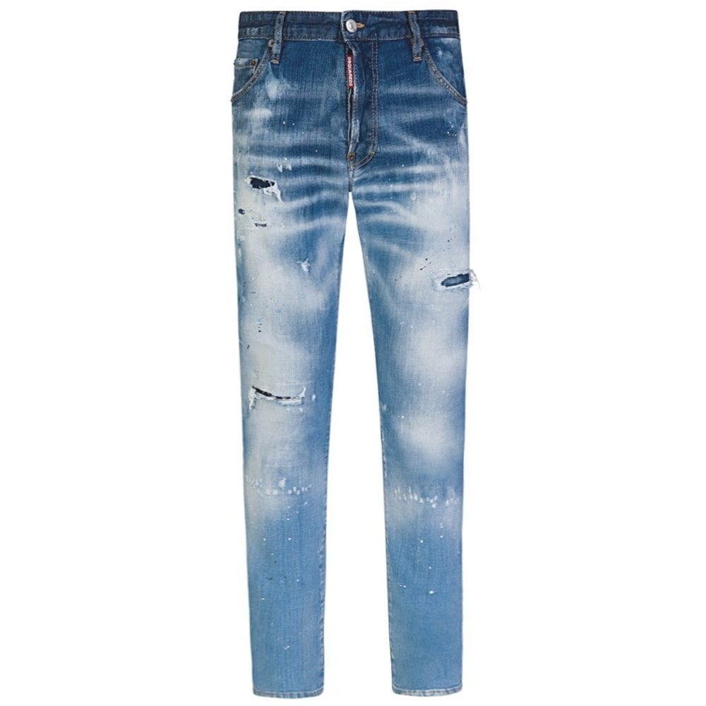 DSquared2 Distressed Cool Guy Jeans Colour: BLUE, Size: 34 30