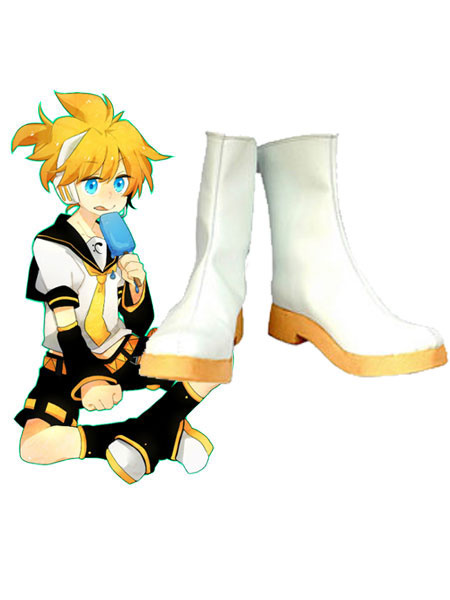 Milanoo VOCALOID Kagamine Rin and Len Cosplay Shoes Halloween