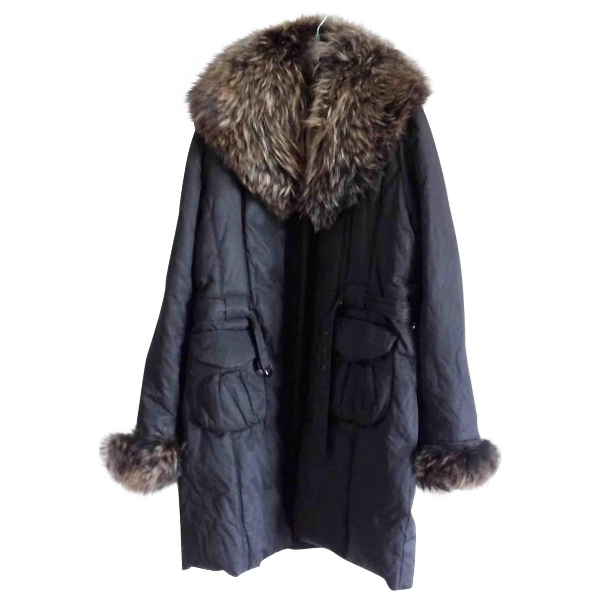 Tosca Blu - Veste   pour femme en coton - noir