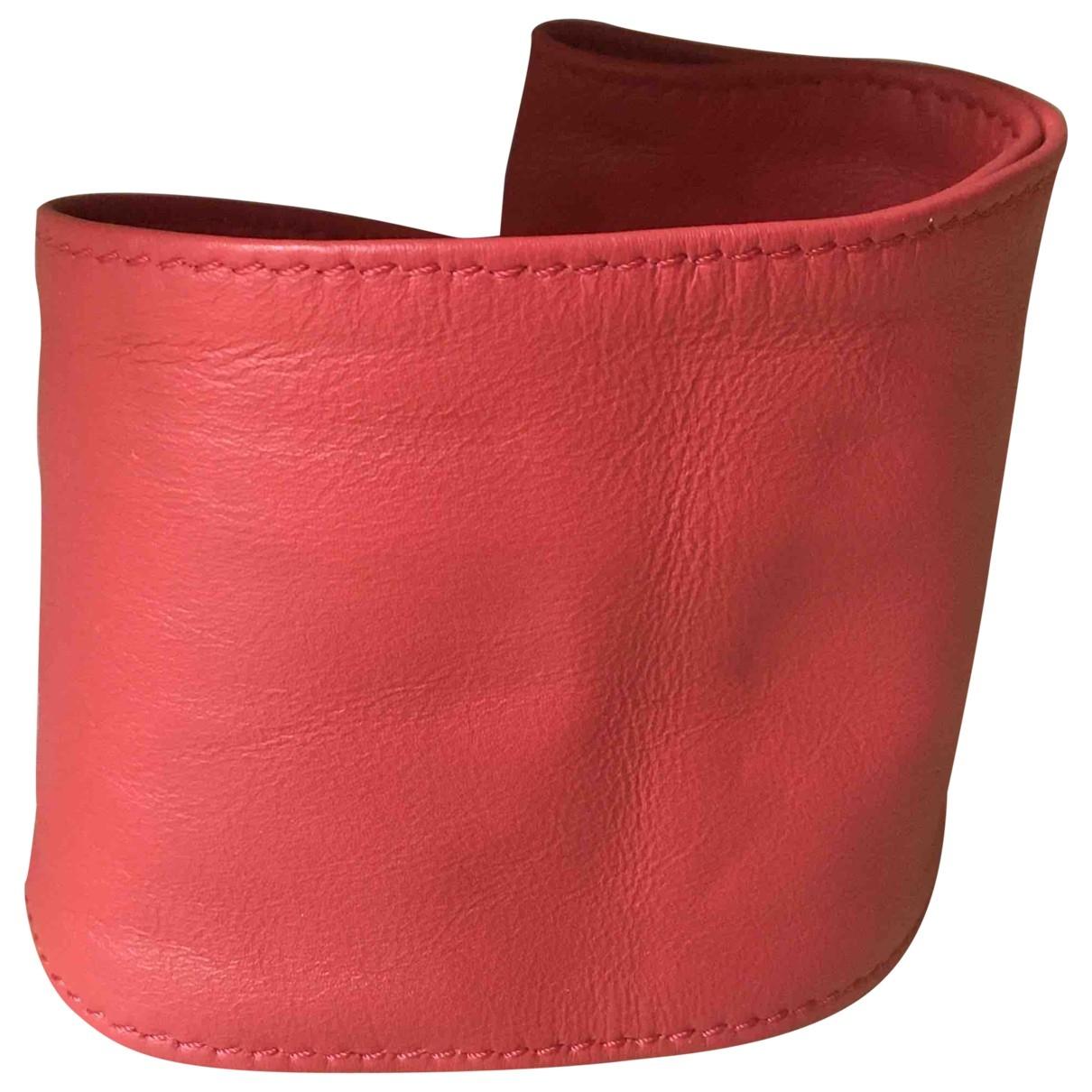 Designers Remix \N Guertel in  Rot Leder