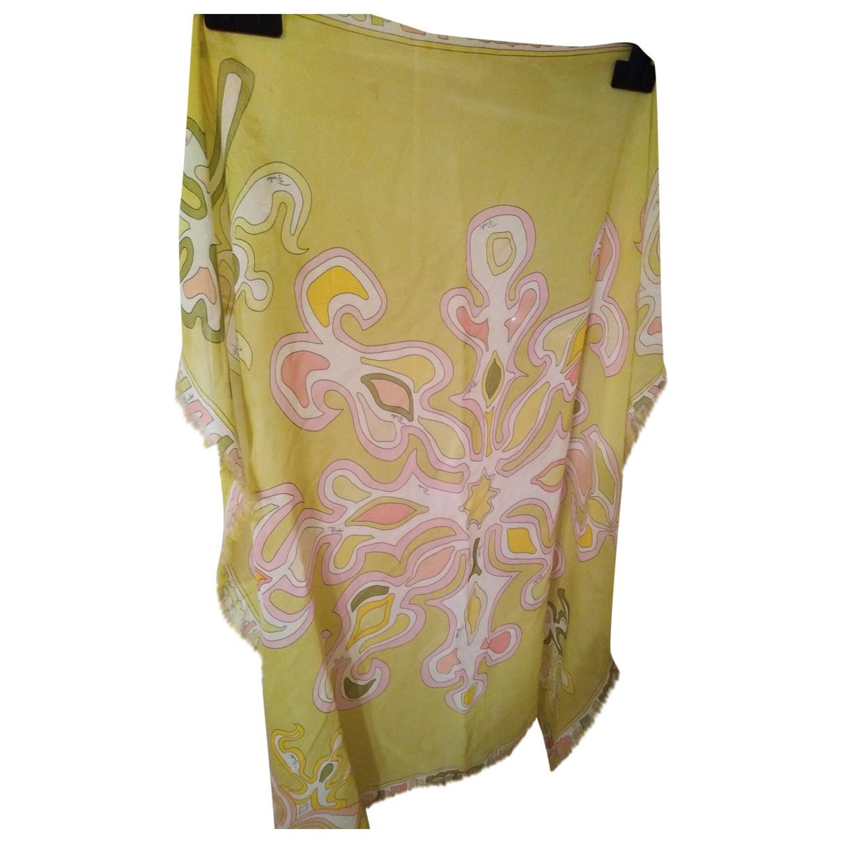 Emilio Pucci \N Green Silk scarf for Women \N