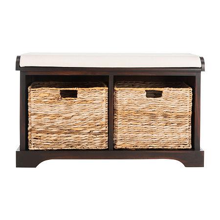 Freddy Storage Bench, One Size , Brown