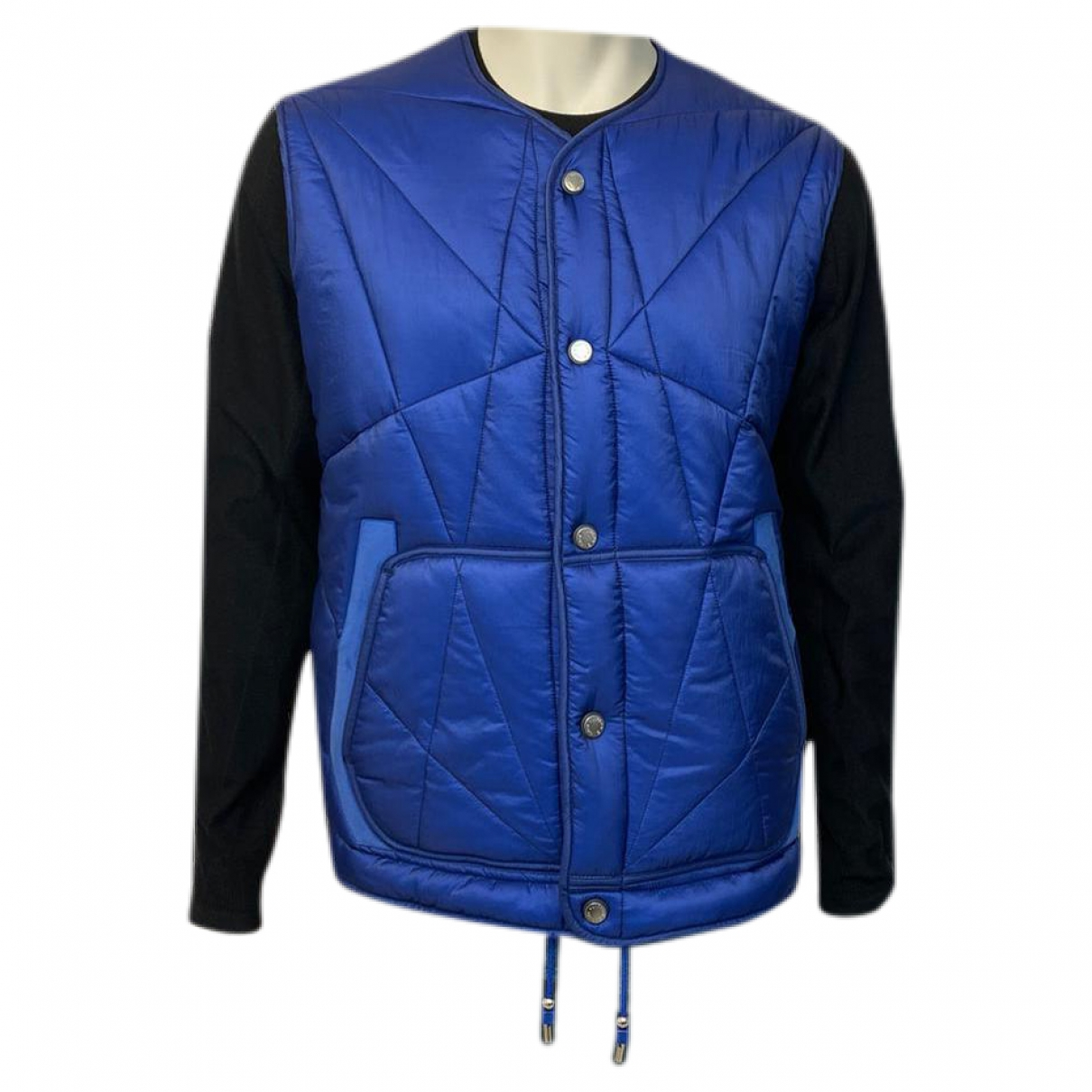 Louis Vuitton \N Jacke in  Blau Synthetik