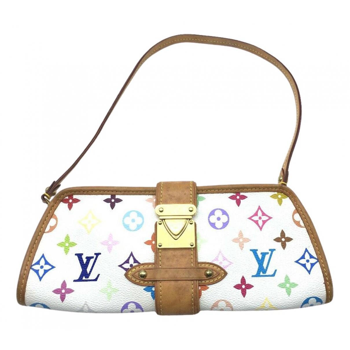 Louis Vuitton \N Clutch in  Bunt Leinen