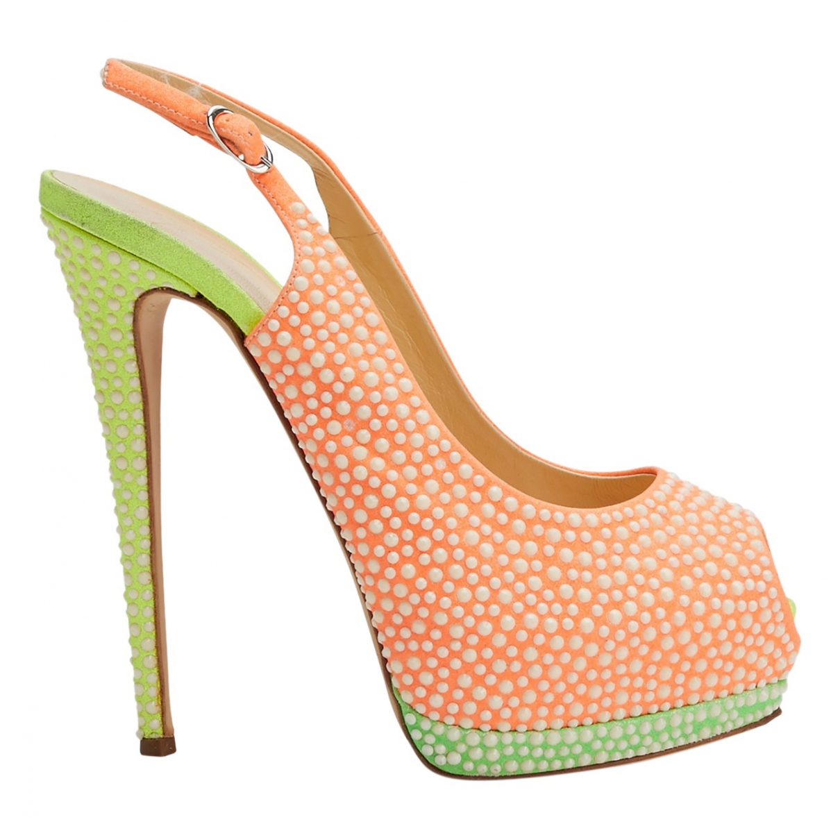 Giuseppe Zanotti \N Multicolour Leather Heels for Women 39 EU