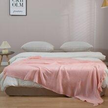 1pc Solid Color Blanket
