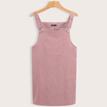 Kleid mit Taschen vorn