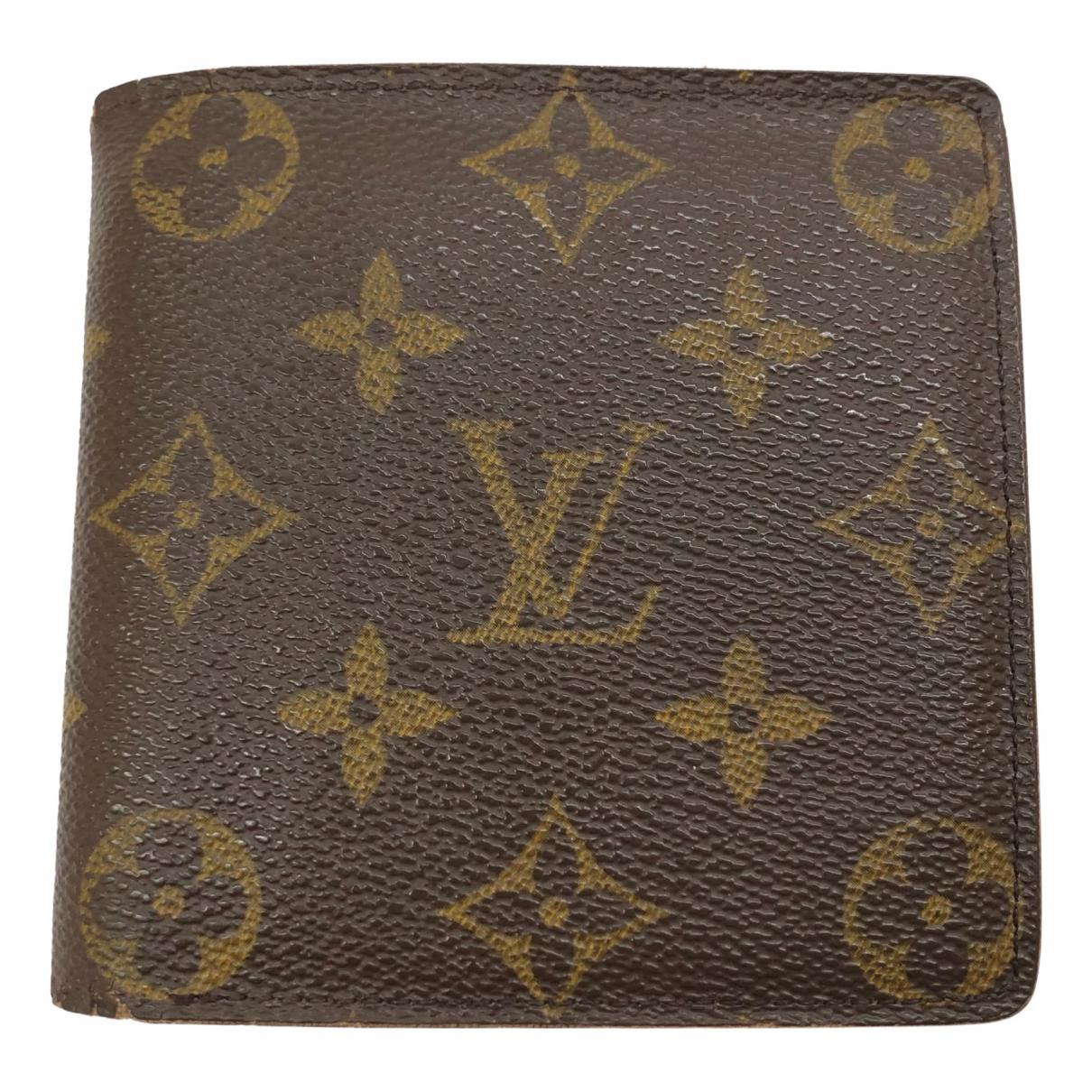 Louis Vuitton \N Kleinlederwaren in  Braun Leinen