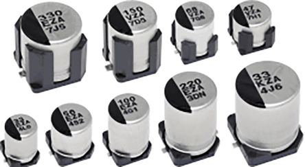Panasonic 47μF Hybrid Capacitor 35V dc, Surface Mount - EEHZA1V470P (1000)