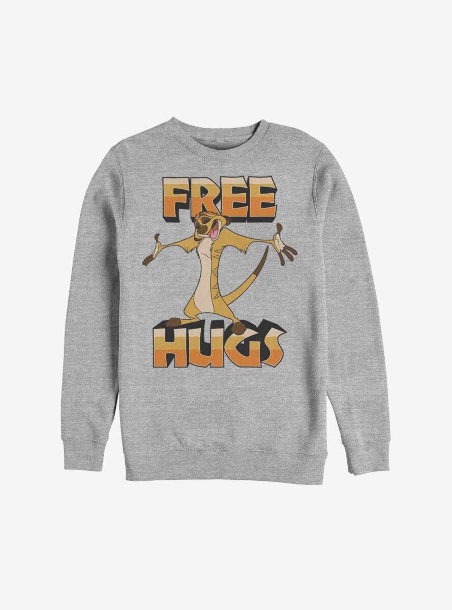 Disney The Lion King Timon Free Hugs Sweatshirt