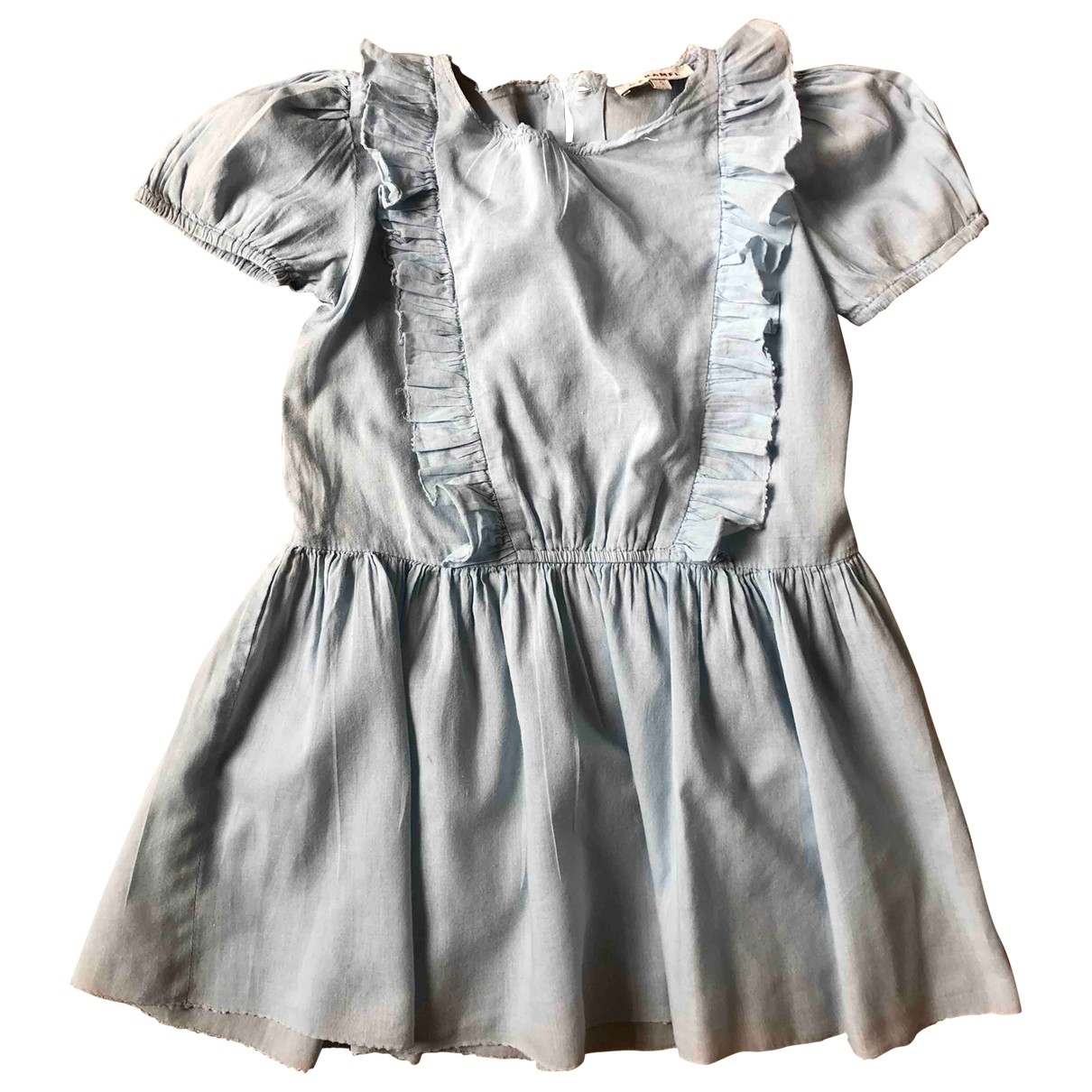 Caramel Baby & Child \N Kleid in  Blau Baumwolle