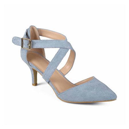 Journee Collection Womens Dara Pumps Stiletto Heel, 12 Medium, Blue
