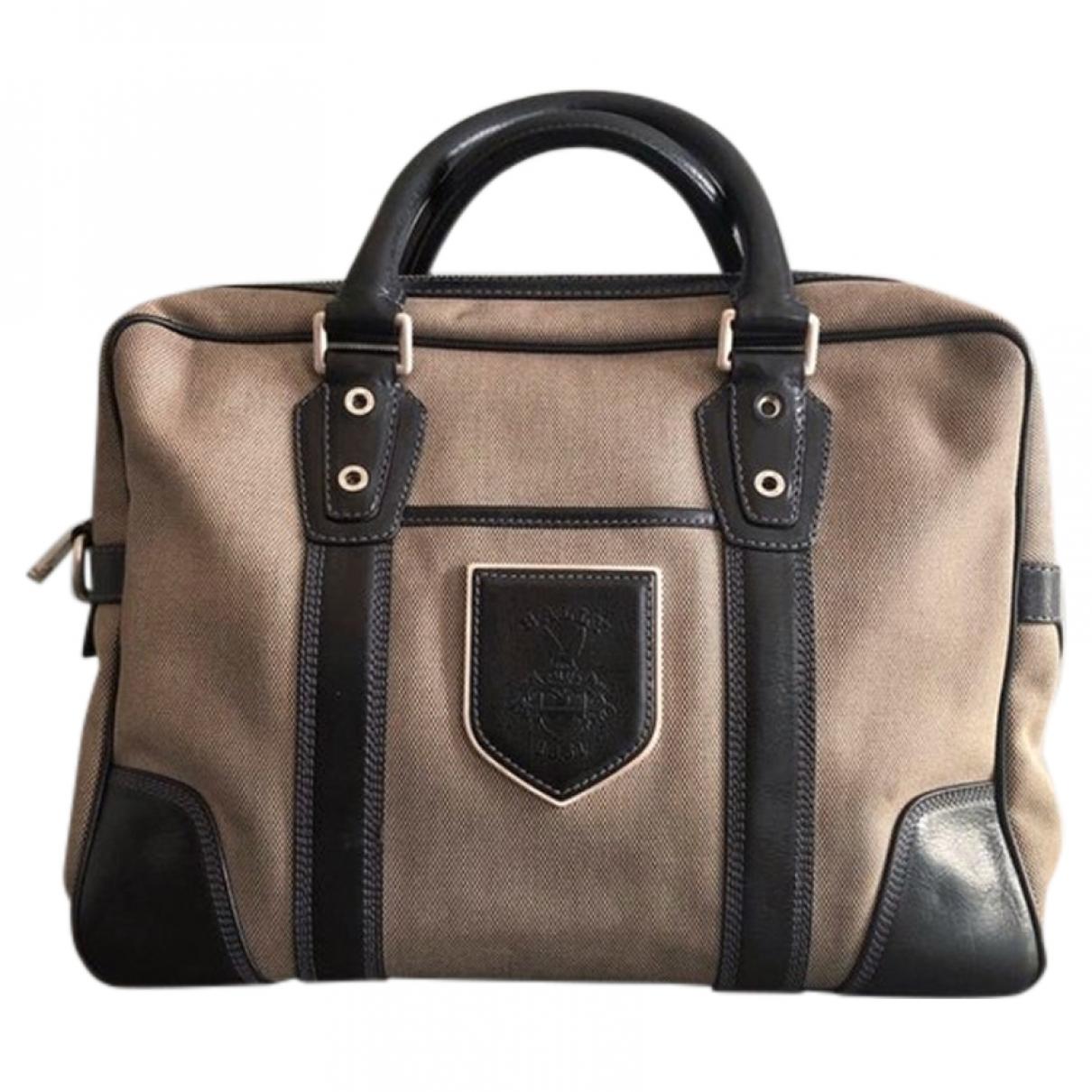 Bally \N Beige Cloth handbag for Women \N