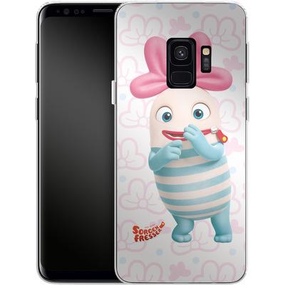 Samsung Galaxy S9 Silikon Handyhuelle - Sorgenfresser Lilli von Sorgenfresser