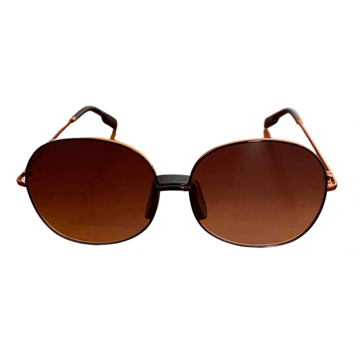 Kenzo \N Brown Metal Sunglasses for Women \N