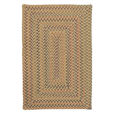 Colonial Mills Nashville Braided Rectangular Reversible Indoor Rugs, One Size , White