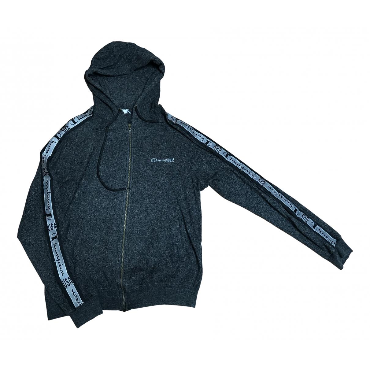 Champion N Anthracite Cotton Knitwear & Sweatshirts for Men L International